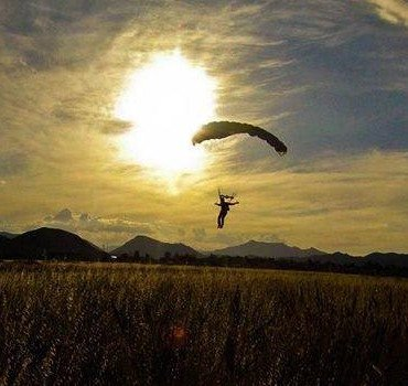 Skydive Robertson Sunset
