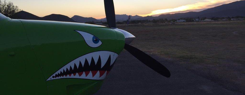 Angry Plane Skydive Robertson