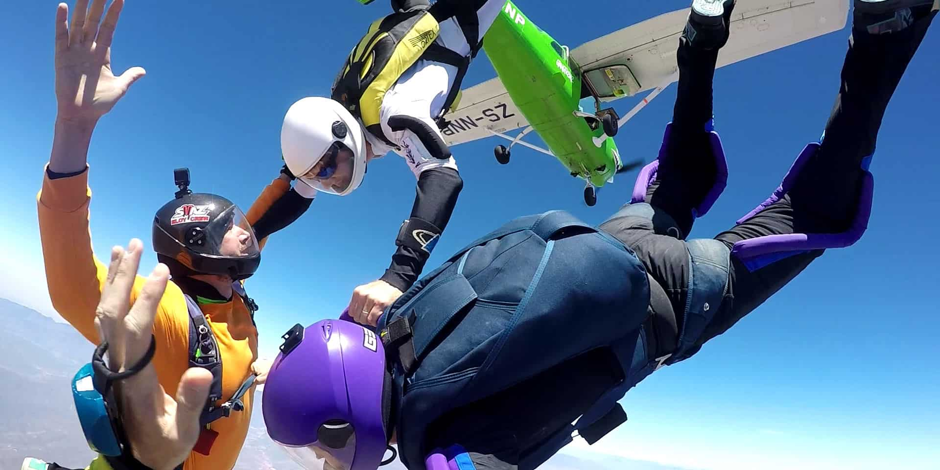 Robertson Challenge Yourself to Skydive