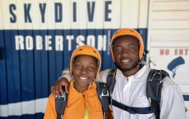 Skydive Robertson First Time Jump fTJ Students