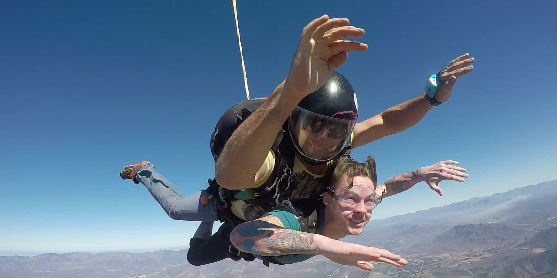 Skydive Robertson Tandem Jump
