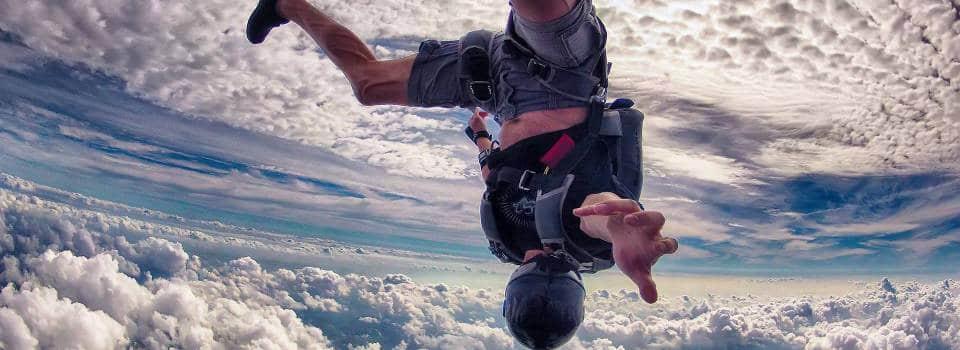 Skydive Robertson Head Down