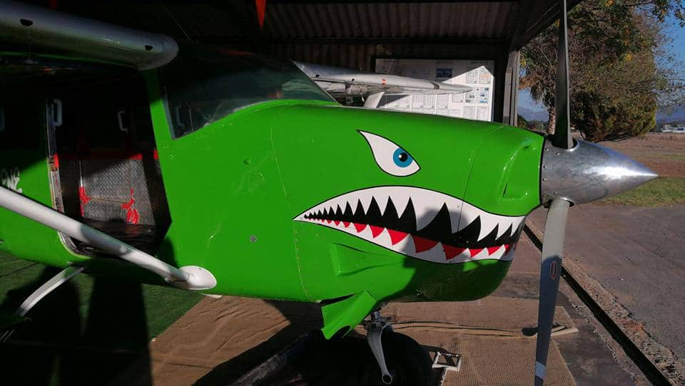 ZS-NNP Cessna 206 Skydive Robertson