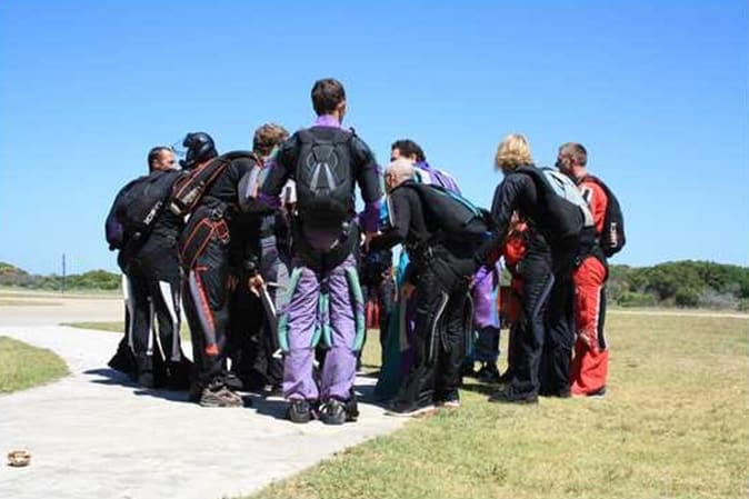 JBay Boogie 2013 Formation Skydive